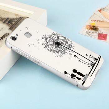 Двухкомпонентный чехол c металлическим бампером с поликарбонатной накладкой и УФ-принтом для Huawei GR3