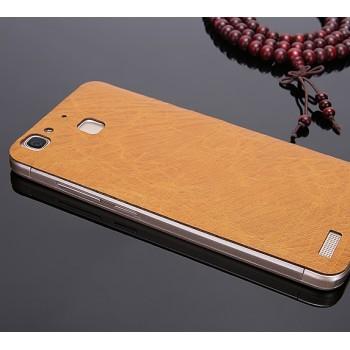 Экстратонкая клеевая кожаная накладка для Huawei GR3