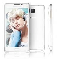 Металлический бампер для Samsung Galaxy Alpha Белый