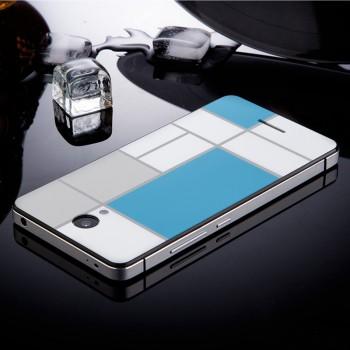 Двухкомпонентный чехол c металлическим бампером с поликарбонатной накладкой и УФ-принтом для Xiaomi RedMi Note 2