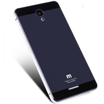 Двухкомпонентный чехол c металлическим бампером с поликарбонатной накладкой для Xiaomi RedMi Note 2