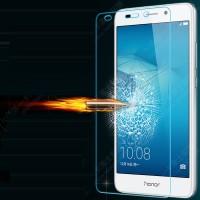 Ультратонкое износоустойчивое сколостойкое олеофобное защитное стекло-пленка для Huawei Honor 5C