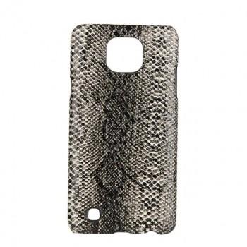 Пластиковый непрозрачный матовый чехол с текстурным покрытием Кожа для LG X cam