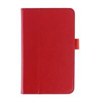 Чехол подставка с рамочной защитой серия Full Cover для ASUS MemoPad 7 ME176C Красный