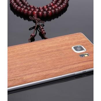 Экстратонкая клеевая натуральная деревянная накладка для Samsung Galaxy S7 Edge