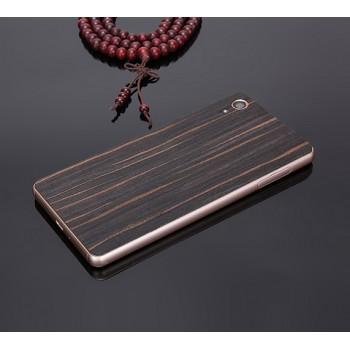 Экстратонкая клеевая натуральная деревянная накладка для Sony Xperia XA