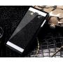 Пластиковый матовый непрозрачный чехол с металлическим напылением для Samsung Galaxy Grand Prime