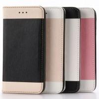 Чехол портмоне подставка на силиконовой основе для Iphone 7