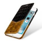 Кожаный чехол горизонтальная книжка (2 вида премиум нат. кожи) для Iphone 7