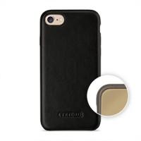 Кожаный чехол накладка (премиум нат. кожа) для Iphone 7