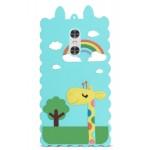 Силиконовый матовый непрозрачный дизайнерский фигурный чехол для Xiaomi RedMi Note 4