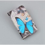 Чехол портмоне подставка на пластиковой основе с полноповерхностным принтом на магнитной защелке для Asus ZenFone 3 Deluxe