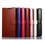 Чехол книжка-подставка глянцевая кожа для Sony Xperia Z3
