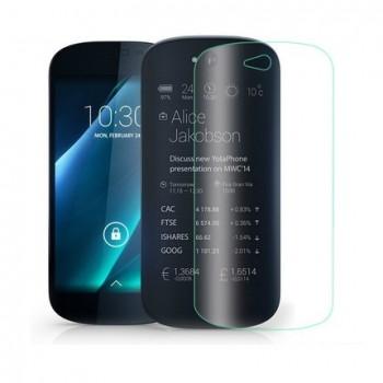 Экстразащитная термопластичная уретановая пленка на заднюю поверхность экрана для Yotaphone 2