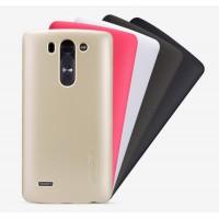 Пластиковый матовый нескользящий премиум чехол для LG G3 S