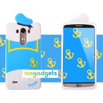 Силиконовый дизайнерский фигурный чехол для LG G3 S Моряк
