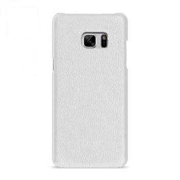 Кожаный чехол накладка (премиум нат. кожа) для Samsung Galaxy Note 7