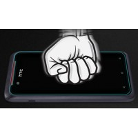 Ультратонкое износоустойчивое сколостойкое олеофобное защитное стекло-пленка для HTC Desire 210