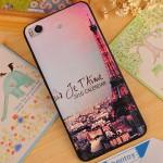 Силиконовый матовый непрозрачный чехол с рельефным принтом для Xiaomi Mi5S