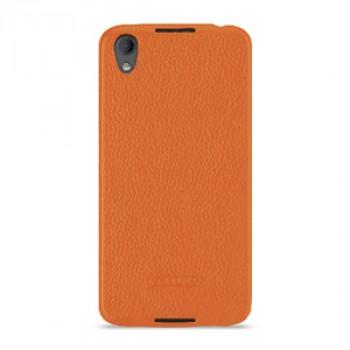 Кожаный чехол накладка (премиум нат. кожа) для BlackBerry DTEK50