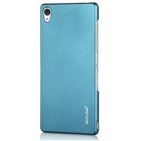 Ультратонкий премиум пластиковый чехол для Sony Xperia Z3 Голубой