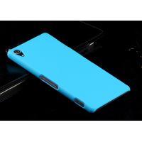 Пластиковый чехол серия Metallic для Sony Xperia Z3 Голубой