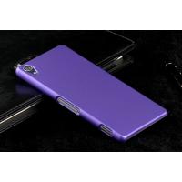 Пластиковый чехол серия Metallic для Sony Xperia Z3 Фиолетовый