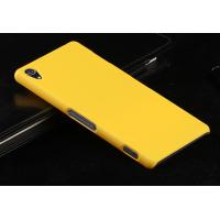 Пластиковый чехол серия Metallic для Sony Xperia Z3 Желтый