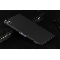 Пластиковый чехол серия Metallic для Sony Xperia Z3 Черный