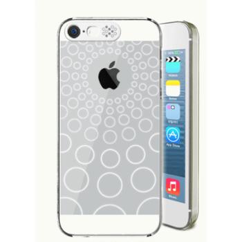 Транспарентный пластиковый чехол со светорассеивающим принтом и шторкой для вспышки для Iphone 6 Plus