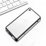 Металлический округлый бампер сборного типа на винтах для Sony Xperia XA