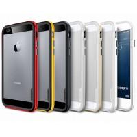 Премиум двухосновный силикон-пластик бампер для Iphone 6