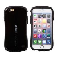 Эргономичный силиконовый чехол повышенной защиты для Iphone 6 Черный