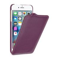 Кожаный чехол вертикальная книжка (премиум нат. кожа) для Iphone 7