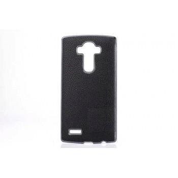 Дизайнерский поликарбонатный чехол с кожаным покрытием для LG G4