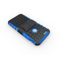 Силиконовый чехол экстрим защита для Iphone 6 Plus Синий