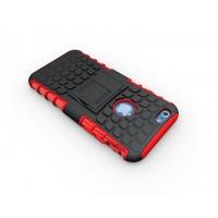 Силиконовый чехол экстрим защита для Iphone 6 Plus Красный