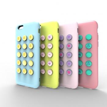 Силиконовый чехол серия Fifteen Pills для Iphone 6
