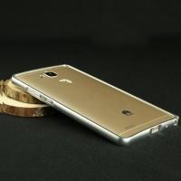 Металлический бампер для Huawei Ascend Mate 7 Белый