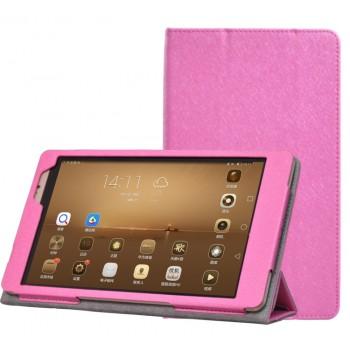 Текстурный чехол подставка с рамочной защитой для Huawei MediaPad M2