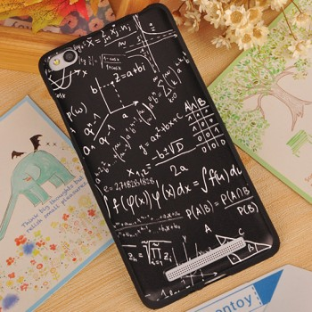 Силиконовый матовый непрозрачный чехол с объемно-рельефным принтом для Xiaomi RedMi 4A