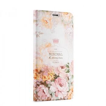 Чехол горизонтальная книжка подставка на пластиковой основе с полноповерхностным принтом для Meizu M3E