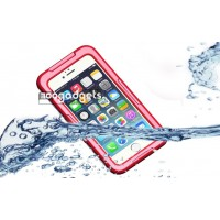 Водонепроницаемый силикон-пластик чехол для Iphone 6 Красный