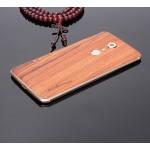 Экстратонкая клеевая натуральная деревянная накладка для ZTE Blade V7 Max