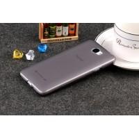 Силиконовый матовый полупрозрачный чехол для Huawei Honor 5A/Y5 II Серый