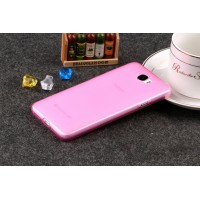 Силиконовый матовый полупрозрачный чехол для Huawei Honor 5A/Y5 II Розовый