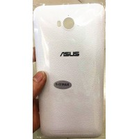 Пластиковый непрозрачный матовый встраиваемый чехол для ASUS ZenFone Max Белый