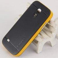 Двухкомпонентный премиум поликарбонат-пластик чехол для Samsung Galaxy S4 Mini Желтый