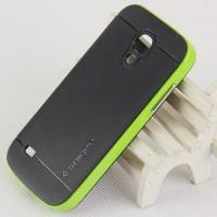 Двухкомпонентный премиум поликарбонат-пластик чехол для Samsung Galaxy S4 Mini Зеленый