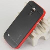 Двухкомпонентный премиум поликарбонат-пластик чехол для Samsung Galaxy S4 Mini Красный